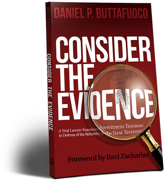 Consider the Evidence Book Photo